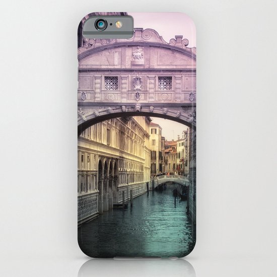 Ponte dei Sospiri | Bridge of Sighs - Venice (colored version) iPhone & iPod Case