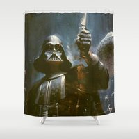 Darth Vader Vintage Shower Curtain