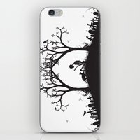 Edgar Allan Poe Black An… iPhone & iPod Skin