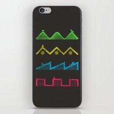 Sound Waves iPhone & iPod Skin