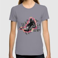 LOVER Womens Fitted Tee Slate SMALL