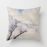 Aim At Heaven Throw Pillow