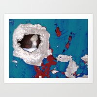Urban Abstract 108 Art Print