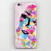 Abstract Portrait iPhone & iPod Skin