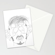 I'm grabbing your eyes baby ! Stationery Cards