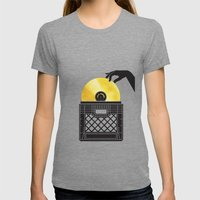 Gold Digger Womens Fitted Tee Tri-Grey SMALL