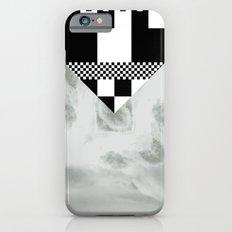 waves/grid #1 iPhone 6s Slim Case