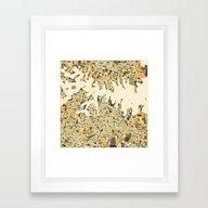 SYDNEY Map Framed Art Print