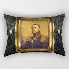 Simon Pegg - replaceface Rectangular Pillow