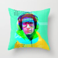 Gioconda Music Project · Beastie Boys · Mike D. Throw Pillow