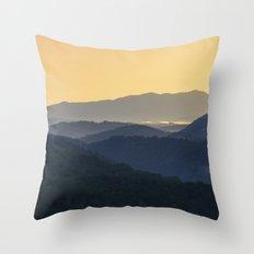 Sunrise at the Smoky's Throw Pillow