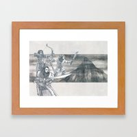 Heirs of Durin Framed Art Print