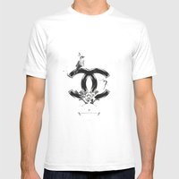 CHANEL Mens Fitted Tee White SMALL