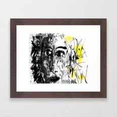 speak out  Framed Art Print