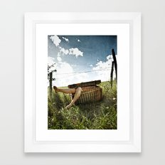 Cannibal pic-nic Framed Art Print
