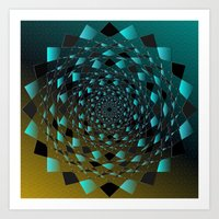 Magic Circle Art Print