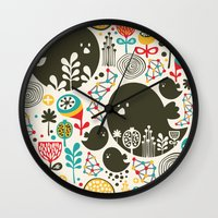 Big Bird. Wall Clock