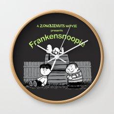 Frankensnoopie Wall Clock