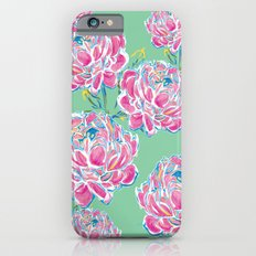 Peony : Mint Slim Case iPhone 6s
