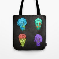 Zombie Quartet Tote Bag
