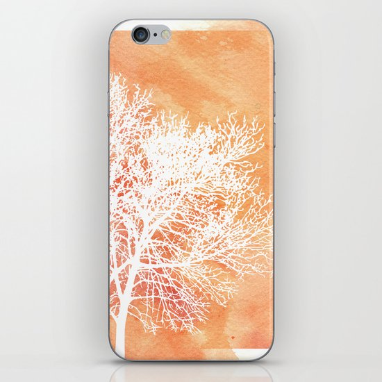 Autumn Silence iPhone & iPod Skin