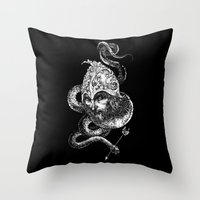 Harbingers Of Doom Throw Pillow