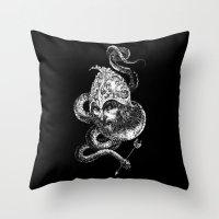 Harbingers Of Doom Throw Pillow