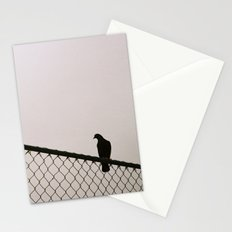 Pigeon Fence Stationery Cards