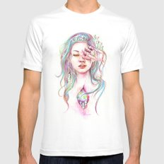 Kodama SMALL Mens Fitted Tee White