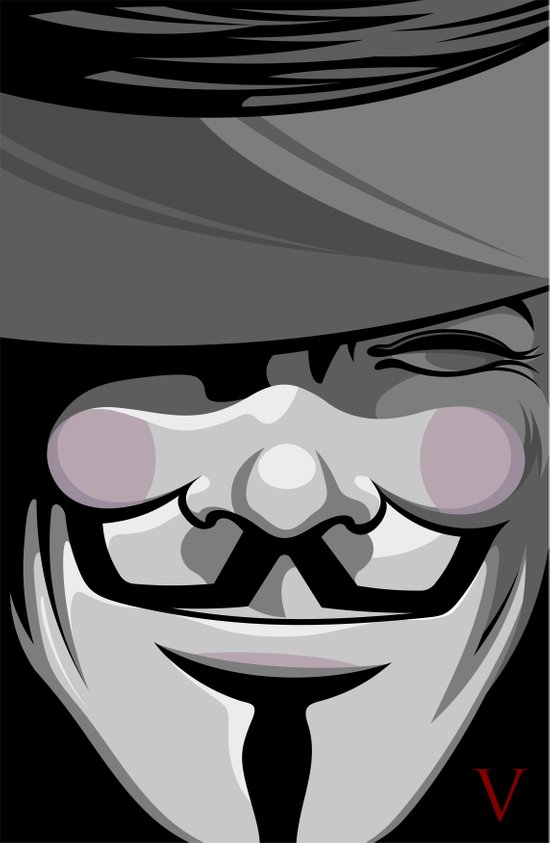 Vendetta Art Print