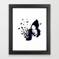 Butterflies 2.0 Framed Art Print