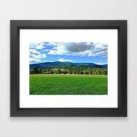 Framed Art Print featuring Captivating Virginia Lan… by Judy Palkimas