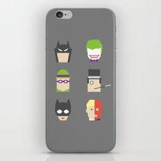 Batimalism iPhone & iPod Skin