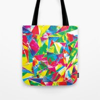 Rave Paint Tote Bag