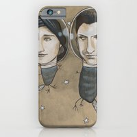 iPhone & iPod Case featuring Outer Face by busymockingbird