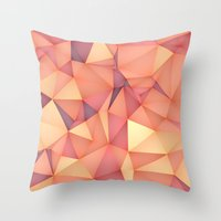 Meduzzle: Blond Throw Pillow