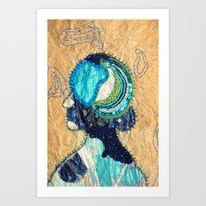 Mind Map I Art Print