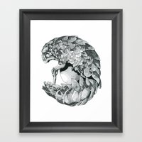 Pangolhumain Framed Art Print