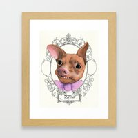 Chihuahua - Tuna  Framed Art Print
