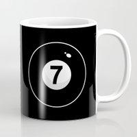 Black Seven Mug
