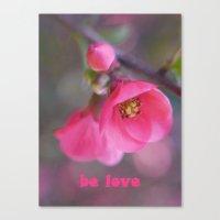 Be Love Canvas Print