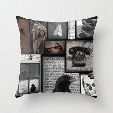 Gothic Myth  Throw Pillow
