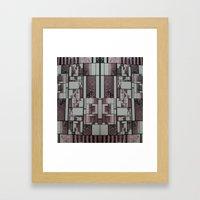 FX#509 - The Faded Geome… Framed Art Print