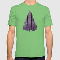 Water Trees - JUSTART © Mens Fitted Tee Grass SMALL