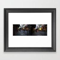 Bourbon Street Framed Art Print