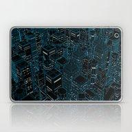 Night Light City / Linea… Laptop & iPad Skin