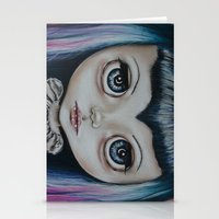 Baby Vamp Stationery Cards