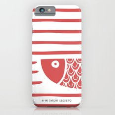 PIXE 2 (light red) iPhone 6 Slim Case
