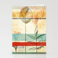 Autumn foliage Stationery Cards