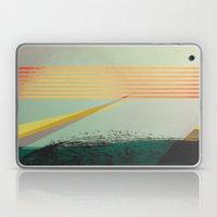 Go Away, Black Clouds Laptop & iPad Skin
